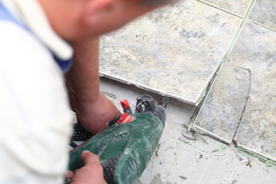 Removing Old Floor Tiles Home Mold Test Kits